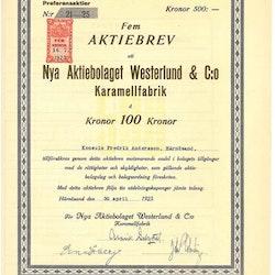 Nya AB Westerlund & Co. Karamellfabrik