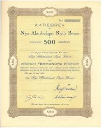 Nya AB Ryds Brunn