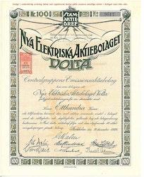 Nya Elektriska AB Volta, 100 kr