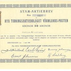 Nya Tidnings AB Värmlands-Posten