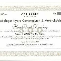 Nybro Cementgjuteri & Murbruksfabrik, AB