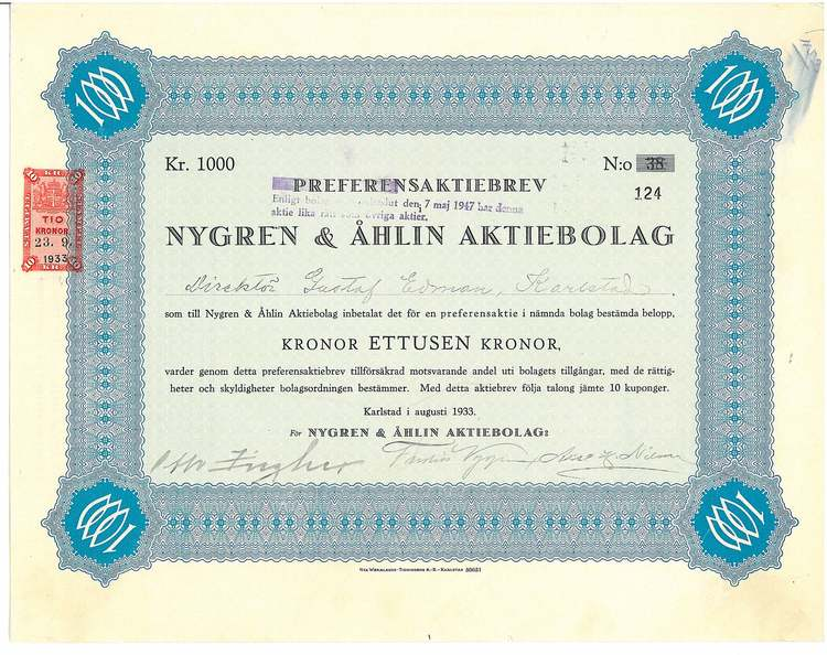 Nygren & Åhlin AB