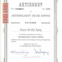 Oscar Esping AB