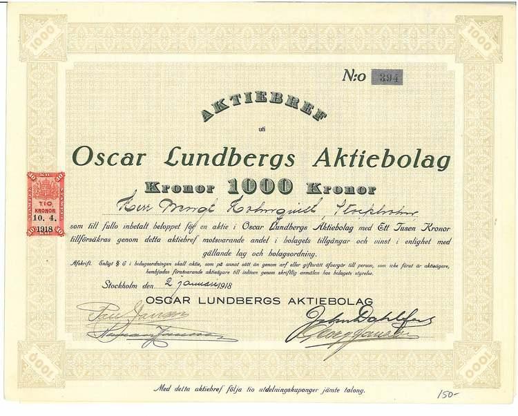 Oscar Lundbergs AB