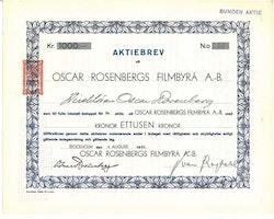 Oscar Rosenbergs Filmbyrå AB, 1000 kr