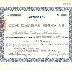 Oscar Rosenbergs Filmbyrå AB,