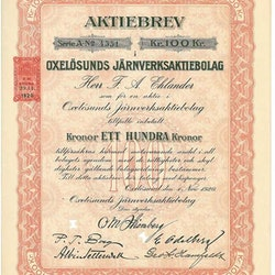 Oxelösunds Järnverks AB