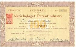 Patentindustri, AB
