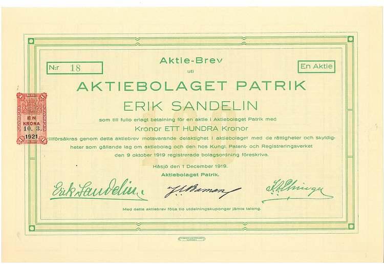 Patrik, AB