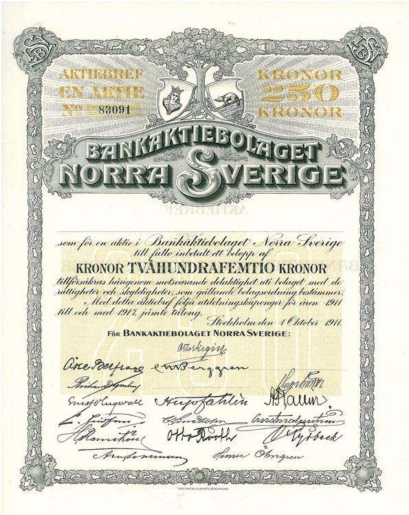 Bank AB Norra Sverige