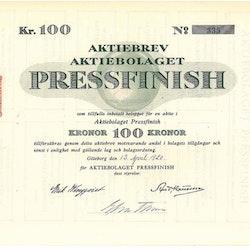Pressfinish, AB