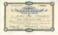 Radiator, AB