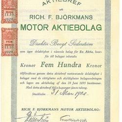 Rich.F.Björkmans Motor AB