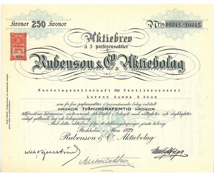 Rubenson & Co. AB
