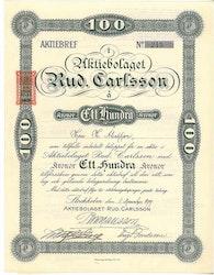 Rud. Carlsson, AB