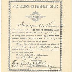 Ryds Brunns och Badhus AB