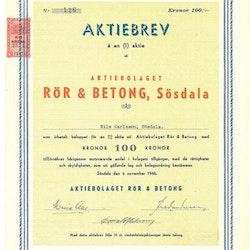 Rör & Betong Sösdal, AB