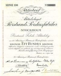 Rörstrands  Porslinsfabriker, AB