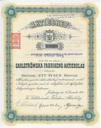Sahlströmska Fabrikens AB, 1918