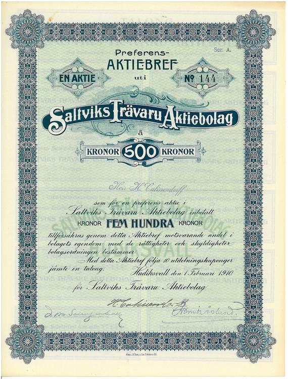 Saltviks Trävaru, AB