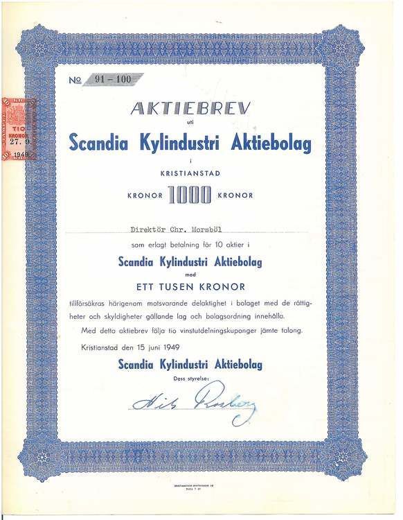 Scandia Kylindustri AB