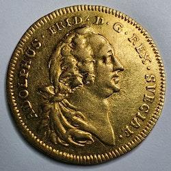 Adolf Fredrik, Dukat 1763