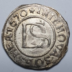 *Karl XI, 1/24 Taler, Pommern