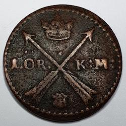 *Karl XI 1 Öre KM 1661