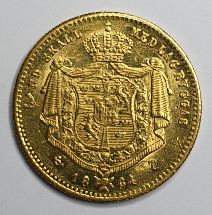 *Karl XV, Dukat 1864/1