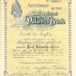 Dalarnes Bank, AB
