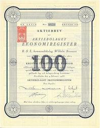 Ekonomiregister, AB