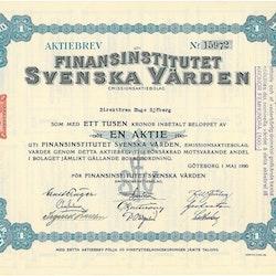 Finansinstitutet Svenska Värden