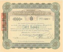 Fond AB Horndahl & Co.