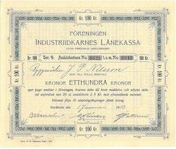 Föreningen Industriidkanes Lånekassa
