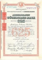 Göteborgs Bank, AB, 625 kr