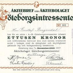 Göteborgsintressenter, AB