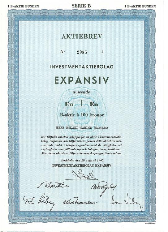 Investment AB Expansiv