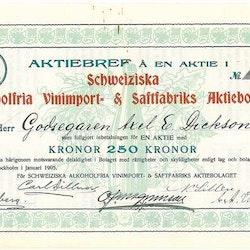 Schweiziska Alkoholfria Vininport- &  Saftfabriks AB