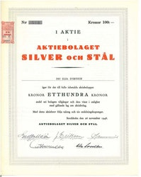 Silver och Stål, AB