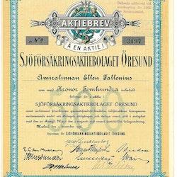 Sjöförsäkrings AB Öresund 1938
