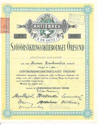Sjöförsäkrings AB Öresund, 1950