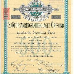 Sjöförsäkrings AB Öresund, 1917