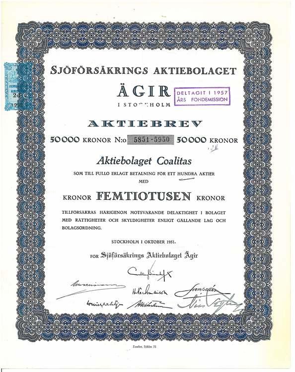 Sjöförsäkrings AB Ägir