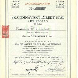 Skandinaviskt Direkt Stål AB (SDS) pref.