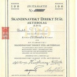 Skandinaviskt Direkt Stål AB (SDS) stam