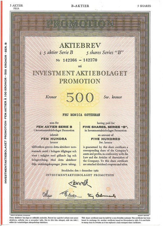 Investment AB Promotion