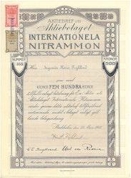Internationela Nitrammon, AB