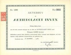 Invex, AB