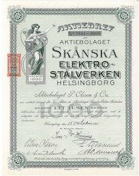 Skånska Elektrostålverken, AB