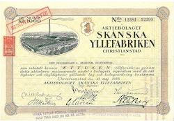 Skånska Yllefabriken AB